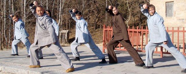 16 Master Wu Nanfang and 5 students