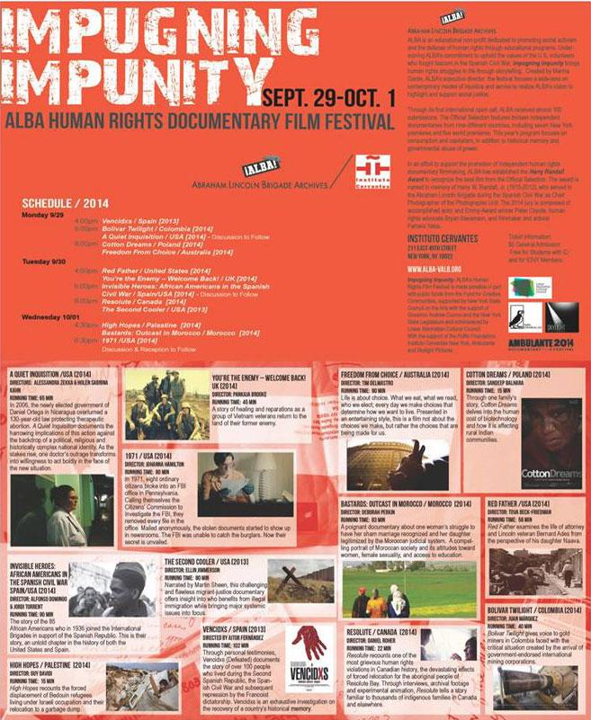 Impugning Impunity 2014