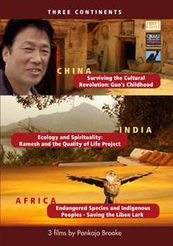 Three Continents DVD Cover