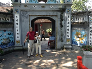 Relaxing and sightseeing in Hanoi with Mike Gillum